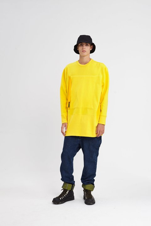 GREENFIELD SWEATSHIRT AMARILLO