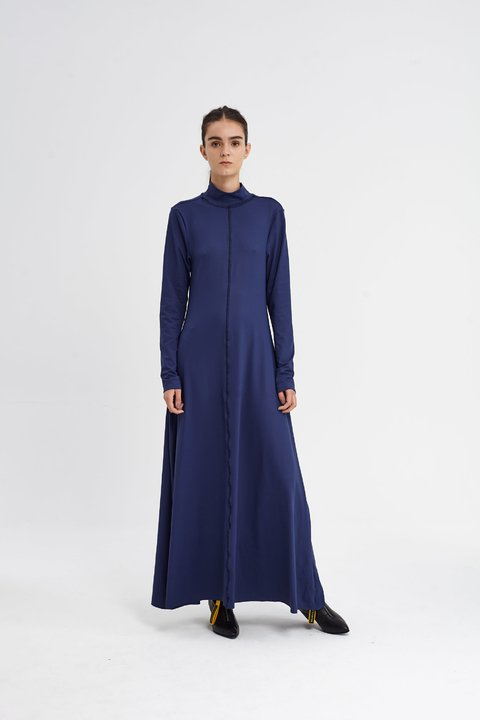 CHURCHFENTON DRESS AZUL