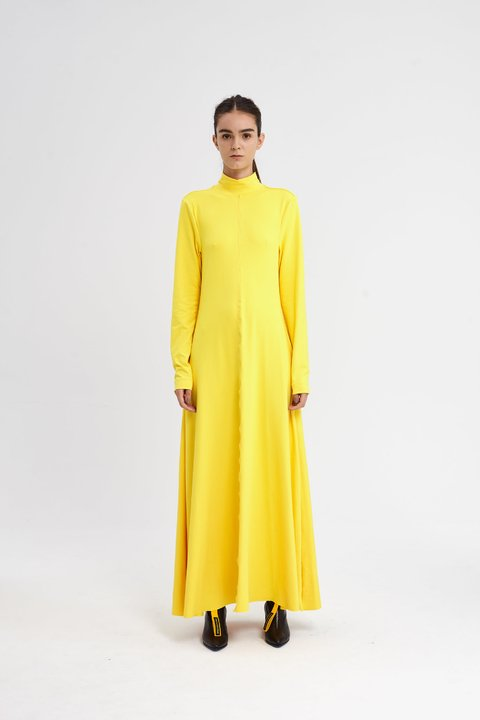 CHURCHFENTON DRESS AMARILLO