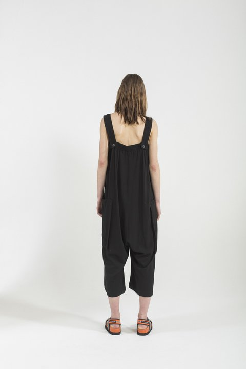 HOUSTON JUMPSUIT NEGRO