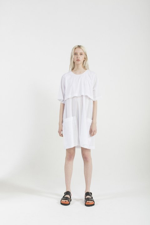 MONROE DRESS BLANCO - comprar online
