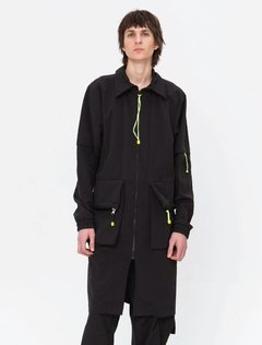 BLACK WAR PARKA