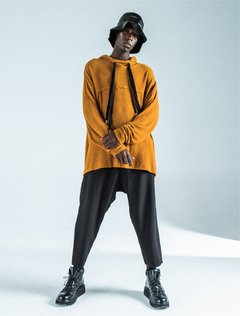 CAELUM SADDLEBROWN SWEATSHIRT