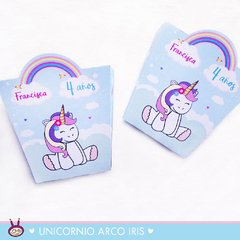¨UNICORNIO ARCO IRIS¨ MINI KIT IMPRIMIBLE - Cukero