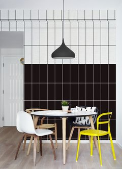 Wallpaper Tiles Negro 2325-4 - comprar online