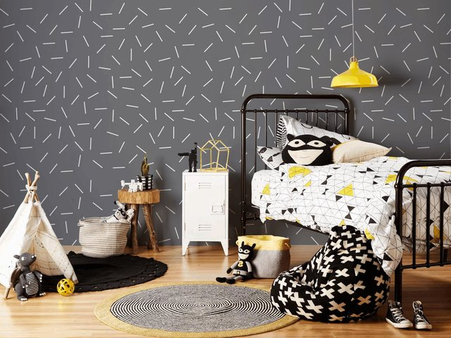 Wallpaper Confetti Gris 2327-5