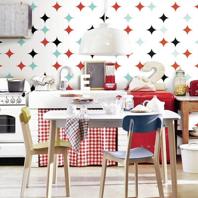 Wallpaper Pumba Rojo - Picnic Decor