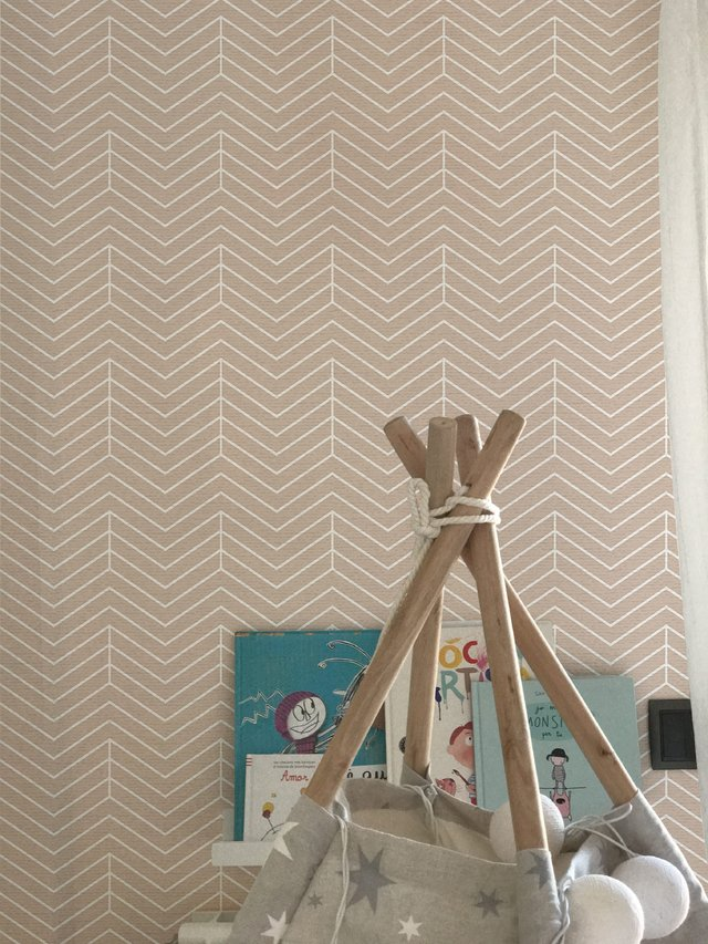 Wallpaper Chevron Rosa 2326-2