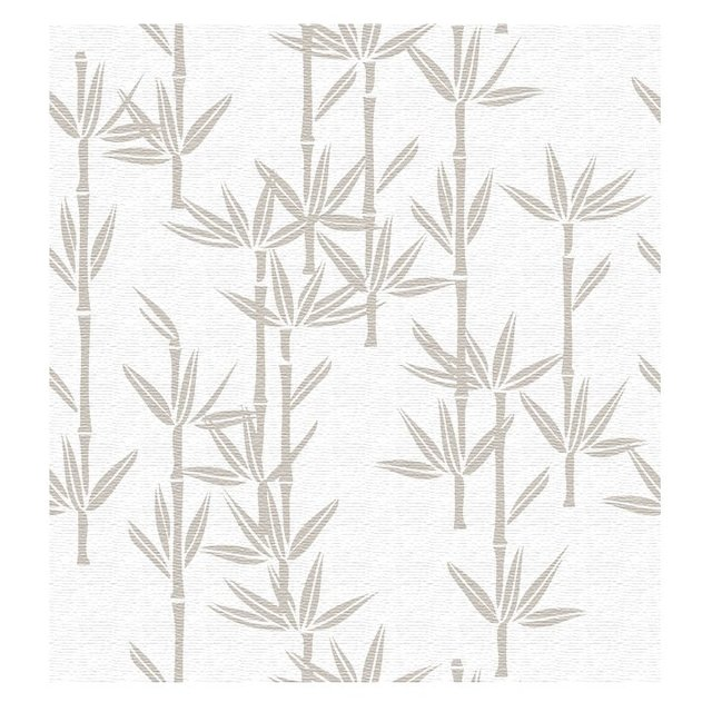Wallpaper Bamboo Gris