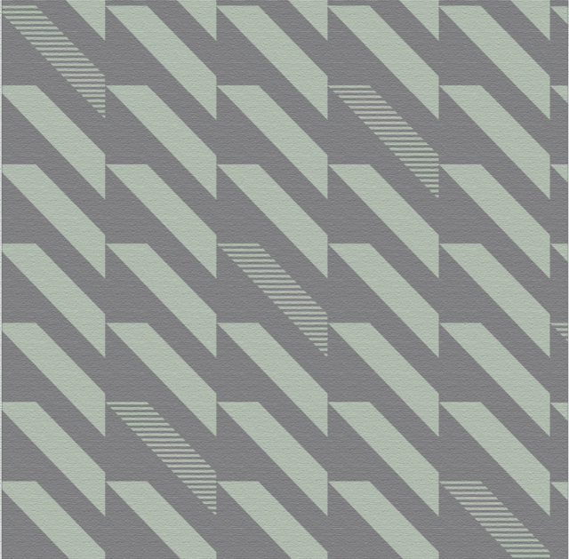 Wallpaper Perth Gris y Aqua 2322-3