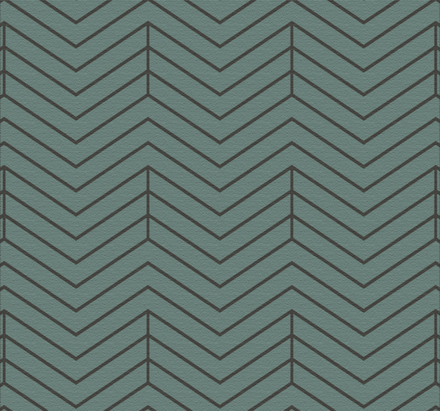 Wallpaper Chevron Azul Verdoso 2326-3