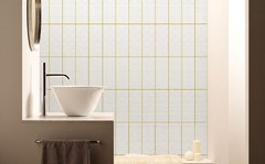 Wallpaper Tiles Blanco y Curry 2325-2 - comprar online