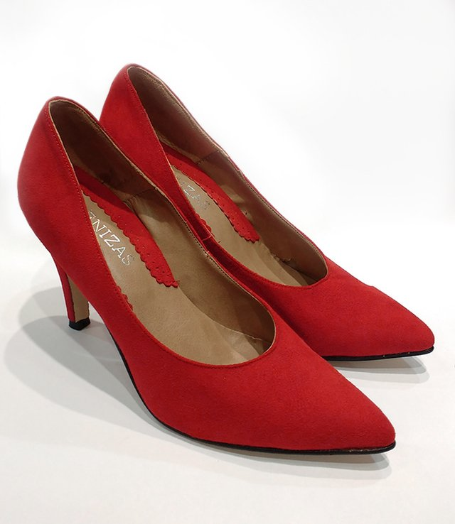Stiletto Sonia Rojo