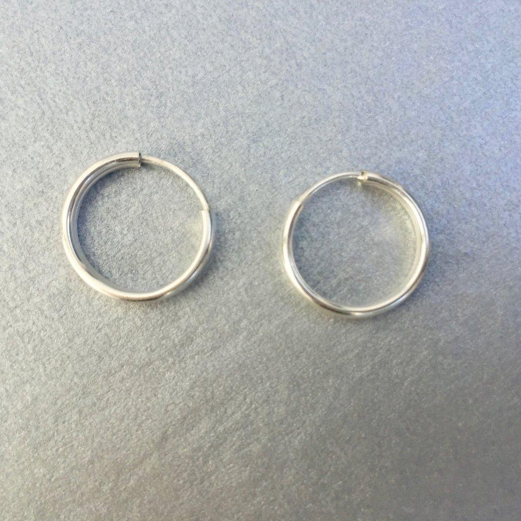 af9f45e1f221 Aros de plata 925