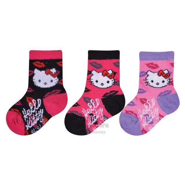 Hello Kitty - Set por 3 pares