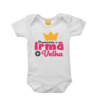 Body Bebê Promovida A Irmã Mais Velha
