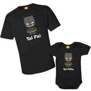 07360a7506d1b7 Kit camiseta - Tal pai, Tal filho do Batman
