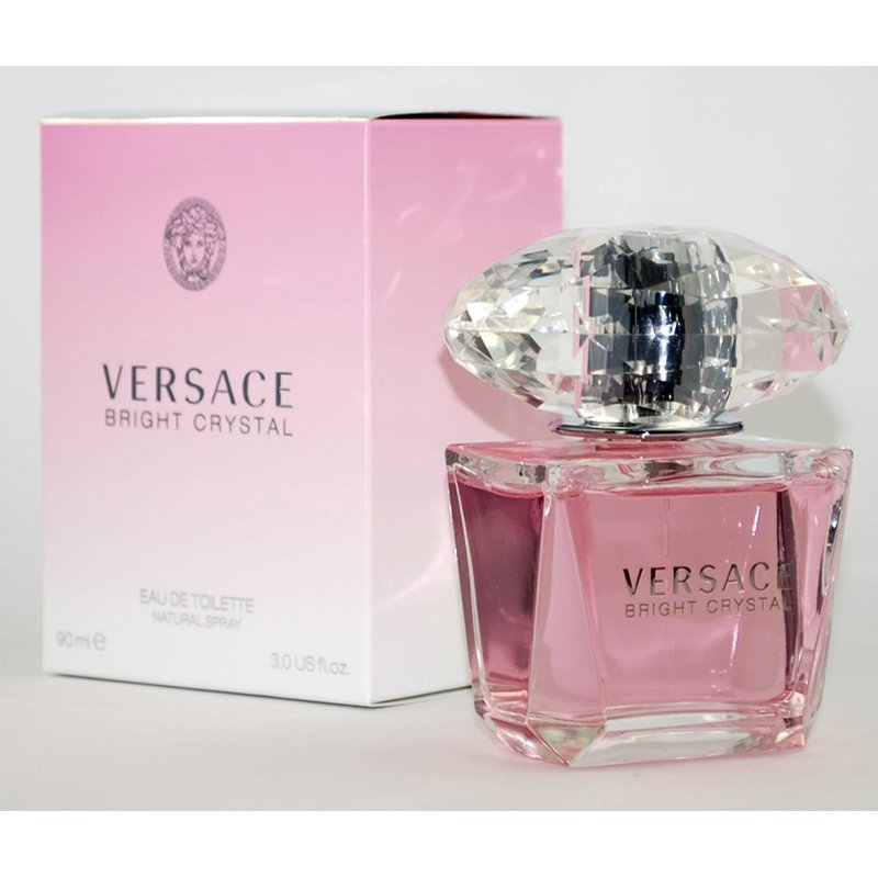 Cosmetic Crystal Perfume Asian Versace Bright 100ml Onk0wP