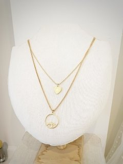 COLLAR DOBLE OJO