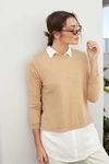 Sweater con camisa FLORENCIA
