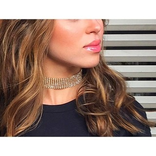 Chocker Diva Strass na internet