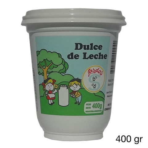 Dulce de leche familiar 400 gr