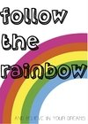 Poster Follow The Rainbow - comprar online