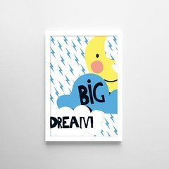 Poster Dream Big - Petite Chose