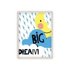 Poster Dream Big na internet