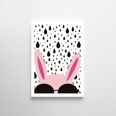 Poster Fashion Rabbit - Petite Chose