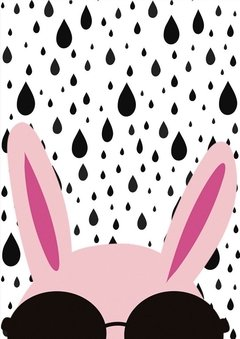 Poster Fashion Rabbit - comprar online
