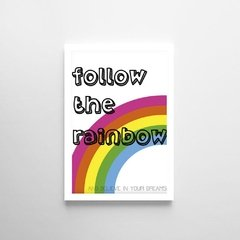 Poster Follow The Rainbow - Petite Chose