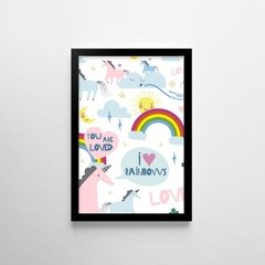 Poster I Love Rainbows - loja online