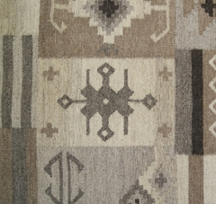 Tapete Kilim Patch 140x200 10800 natural - comprar online