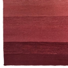 Tapete Kilim Degrade 60x100 red - comprar online