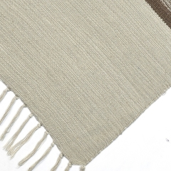 Tapete Kilim Cotton 300x400 Bege na internet