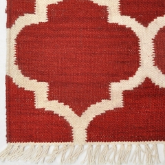 Tapete Kilim Summer 200x250 07 Red - comprar online