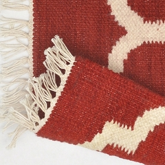 Tapete Kilim Summer 200x250 07 Red - Zarif Tapetes