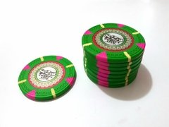 "Rollo 25 Fichas de Poker The Mint Denominación ""$25"""