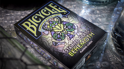 Baraja Bicycle Stained Glass Behemoth Playing Cards