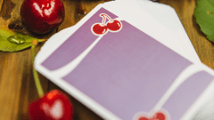 Baraja Cherry Casino Morado Fremonts (Desert Inn Purple) Playing Cards - comprar en línea