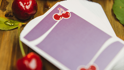 Baraja Cherry Casino Morado Fremonts (Desert Inn Purple) Playing Cards