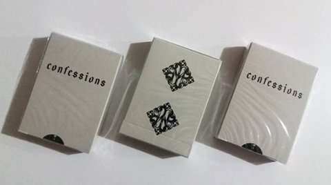 Confessions Playing Cards