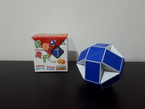 Cubo ShengShou Magic Snake Azul
