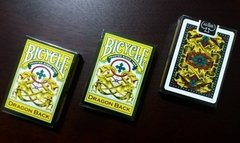 Baraja Bicycle Dragon Back Playing Cards Yellow Amarillo - comprar en línea