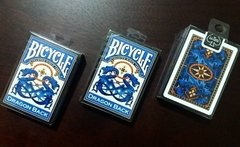 Baraja Bicycle Dragon Back Playing Cards Blue Azul - comprar en línea