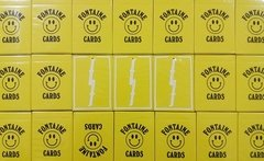 Baraja Fontaine Chinatown Market Yellow Playing Cards