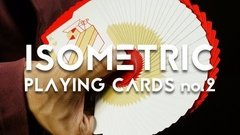 Baraja Isometric V2 Playing Cards New Deck Order NDO Cardistry - Akhitoy