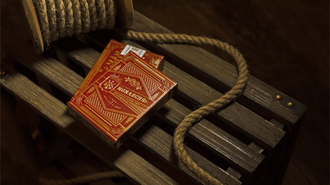 Baraja Monarchs Playing Cards Red Rojo de Theory11