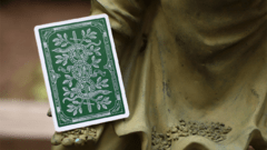 Baraja Monarchs Playing Cards Green Verde de Theory11 - Akhitoy